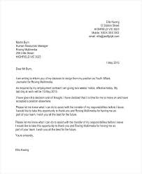example letter of resignation samples letter of resignation letter resignation sample photos of