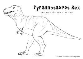tyrannosaurus rex coloring page w8606 vs t ng pages t pages free sheets dinosaur page for