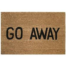 Wonderful Kempf Go Away Doormat, 16 By 27 By 1 Inch