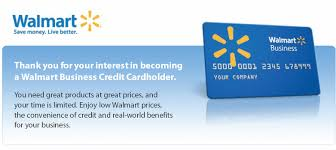 Walmart Business Credit Account