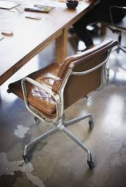 eames chair vintage for sale. vintage soft-pad, caramel leather eames chair for sale