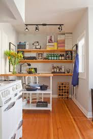 Small Kitchen Apartment Therapy 6 Ways To Make A Small Kitchen Look Infinitely Bigger Apartment