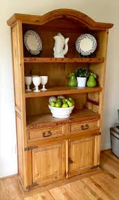 Hutch Kitchen Furniture Diy Recycled Pine Wood Kitchen Hutch Diy And Crafts