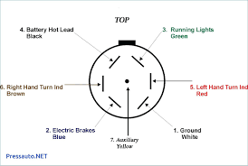 7 pin trailer lights wiring diagram wiring library