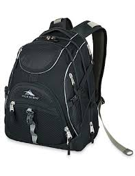 Access Backpack. Black  Grey