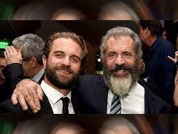 De zoon van Mel Gibson, genaamd Milo ...