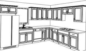 kitchen cabinet design template