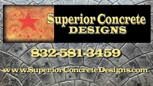 Superior Concrete Designs Superior Concrete Designs Houston Tx Concrete Staining Stamping And Refinishing