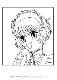 Pudding Fong Portrait Coloring Page More