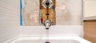 how to install a shower bathtub
