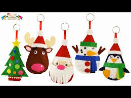 Fab Felt Christmas Tree Ornaments  Part 5  So Sew EasyEasy Christmas Crafts To Sew