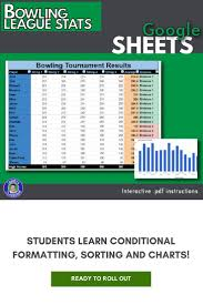 Bowling Spreadsheets Google Sheets Bowling Scores Chart Review Google Docs Lessons