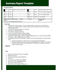 Project Proposal Summary Example Templates Of Report Image Template ...