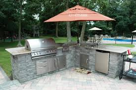 outdoor kitchen bull bbq s long island ny deck and