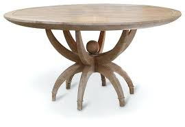 coastal beach white oak contemporary round dining table and set room chairs transitional tables