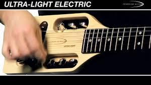 Traveler Guitar Ultra Light Electric Guitar Traveler Guitar Ultra Light Electric Guitar Overview And Demo