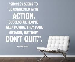 Success Christian Quotes Best of Conrad Hilton Success Seems Wall Decal Quotes Christian Wall