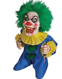 animated bite sized clown prop