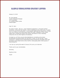 Unsolicited Cover Letter Unique Writing Cover Letters For Job