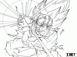 Small Picture Dragon Ball Z Goku Super Saiyan 5 Coloring Pages For Kids And