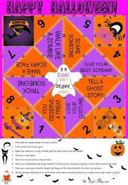 Halloween Cootie Catcher Origami #1 Folding Game Original ...