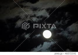 月の満ち欠けの写真素材 Pixta
