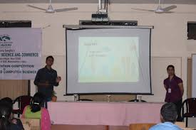 kaveri college of arts science and commerce inter collegiate topics for the electronics and computer science paper presentation were iot and their applications role of electronics in energy harvesting