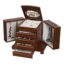 unique chest of drawers. Unique European Walnut Jewelry Box Chest With Drawers And Necklace Sides Of