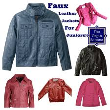faux leather jackets for juniors collage