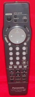 panasonic tv cable. panasonic tv/cable dss vcr/fm radio program director mb universal remote control #panasonic | vintage \u0026 unique for sale pinterest tvs tv cable a