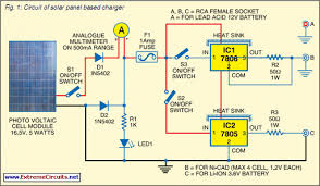 solar panel based charger and small led lamp circuit diagram solar panel based charger and small led lamp circuit schematic