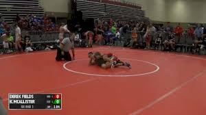 105 RR Rnd 3 - Derek Fields, Ohio National Grey vs Kaedyn McAllister,  FoxFire WC