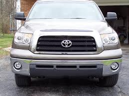 07 08 09 10 Toyota Tundra CCFL Halo Projector Headlights   Dash Z ...