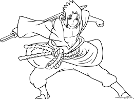 Coloring Pages Anime Sasuke Of Naruto Shippudencb91 Coloring Pages