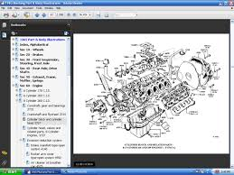 fordmanuals com 1965 mustang part and body illustrations ebook screenshot of 1965 mustang engine cylinder block