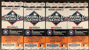 Astros Seating Chart 2017 Teen Tried To Sell Fake World Series Tickets To Undercover