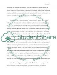 frightening incident essay example topics and well written frightening incident essay example