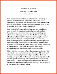 my vision statement sample 9 personal vision statement sample case statement 2017