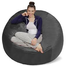 bean bag chairs. A Great Synonym Of Comfort And Ease: The Bean Bag Chairs