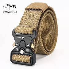 Male <b>Tactical</b> Canvas Belt wide 3.8cm <b>Outdoor Tactical</b> Belt mens ...