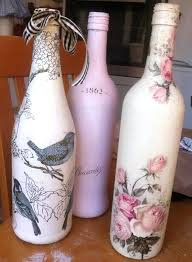 Wine Bottles Decoration Ideas Charming Glass Bottle Decoration Ideas How To Fabric Decoupage 80