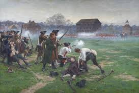 battle of lexington and concord battle on lexington green battle of concord and lexington 19th 1775 american revolutionary war