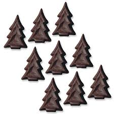 Chocolate Christmas Tree Toppers x 20