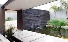 modern outdoor wall fountains designs ideas