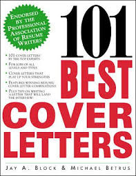 101 Best Cover Letters Book By Jay A Block
