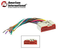 ford plugs into factory radio car stereo cd player wiring harness Factory Wiring Harness image is loading ford plugs into factory radio car stereo cd factory wiring harness for radio