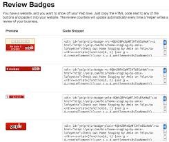 yelp review template. Plain Template Add Yelp Review Badges To Your Website To Review Template O