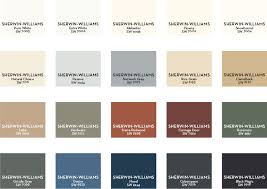 Sherwin Williams Color Chart For Exterior Paint Paint Landing Pottery Barn