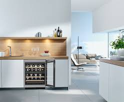 Integrated Wine Cabinet Kwt 6321 Ug Built Under Wine Conditioning Unit Glass Door