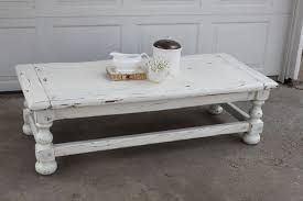elegant shabby chic coffee table ideas 20 white with clean and graceful curves finish